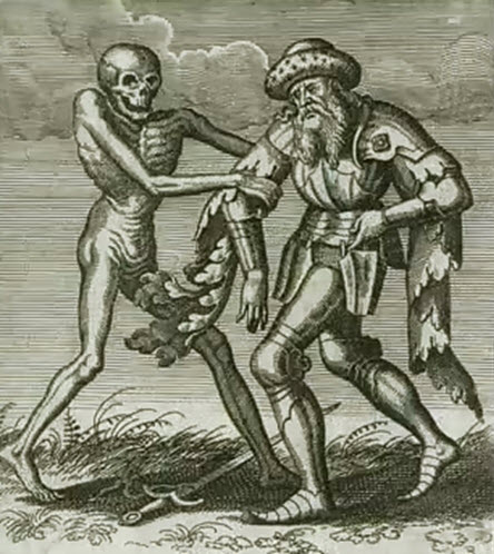 Dance of Death by Matthew (Matth�us) Merian (1593-1650)
